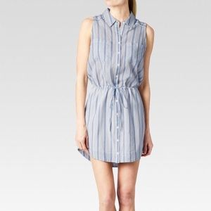 PAIGE Button Down Dress Shirt 100% Cotton sz XS